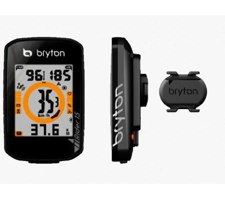 Bryton Rider 15C con sensor de cadencia